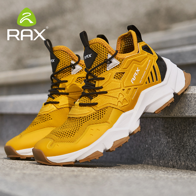 Rax New Mens Waterproof Hiking Shoes Mountain Hiking Boots Trainers Breathable Jogging Shoes Trekking Shoes Outdoor Man Sneakers