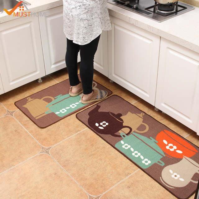 50*120 cm bereich teppich küche Hohe qualität rutschfeste Wasserdichte  küche teppiche Kostenloser Versand