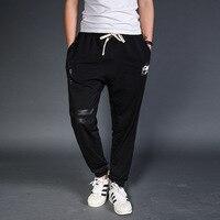 Fashion 2017 New Sweatpants Harem Pants Men Joggers Cotton Elastic Loose Waist Large Size Men S