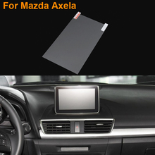 Car Styling 7 Inch GPS Navigation Screen Steel Protective Film For Mazda Axela Control of LCD Screen Car Sticker