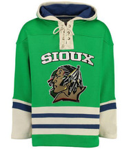 Hockey Jersey North Dakota Fighting Sioux Hockeys Stitching Customize Any Name Any Number Men Woman Youth Hoodie Sweater Jerseys