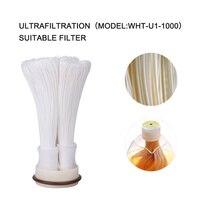 Cartucho de ruedas 304 filtro de agua de acero inoxidable PVDF purificador de ultrafiltración, 1000L, filtros rectos de cocina para el hogar UF