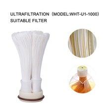 Wheelton картридж 304 нержавеющая сталь фильтр для воды PVDF Ultrafiltration очиститель, 1000L, дома кухня пить прямо UF фильтры