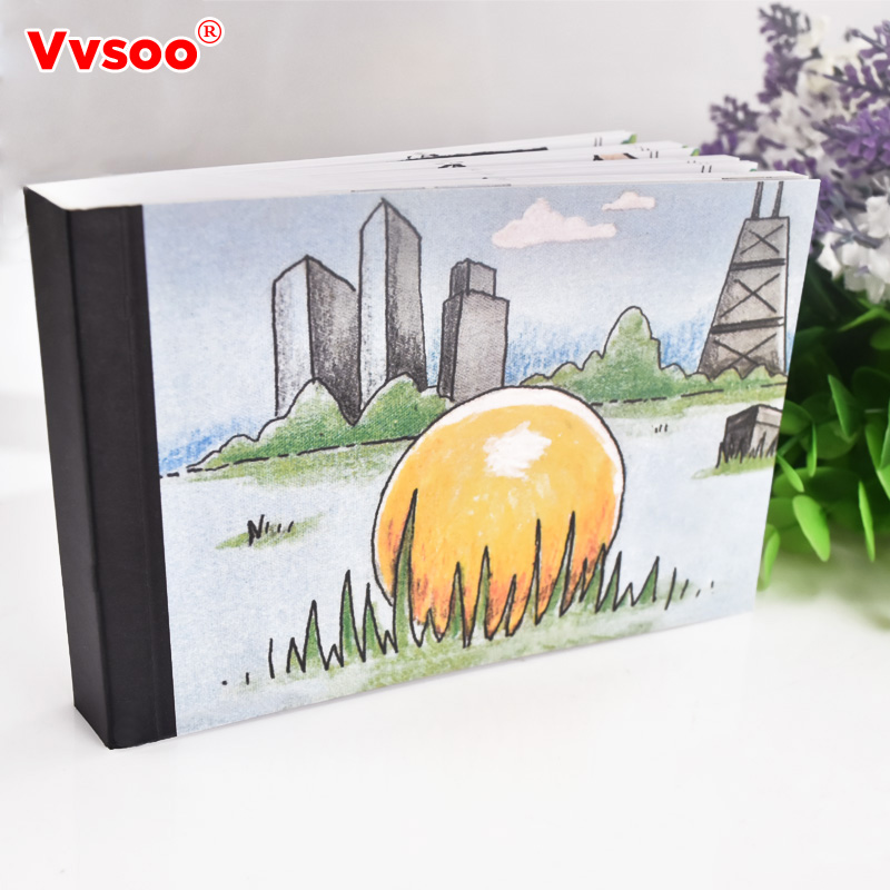Vvsoo Creative Propose Book Propose Gift Flip Flap Book Can Hide the Marriage Ring Carton Flippist FlipBook Christmas day gift