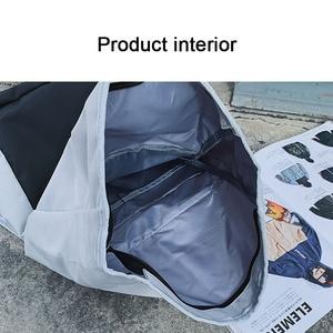 Image 5 - ファッションカジュアルバックパックユニセックストレンド女性bagpackシンプルな毎日バッグ多機能学生大容量バッグ軽量グリーン