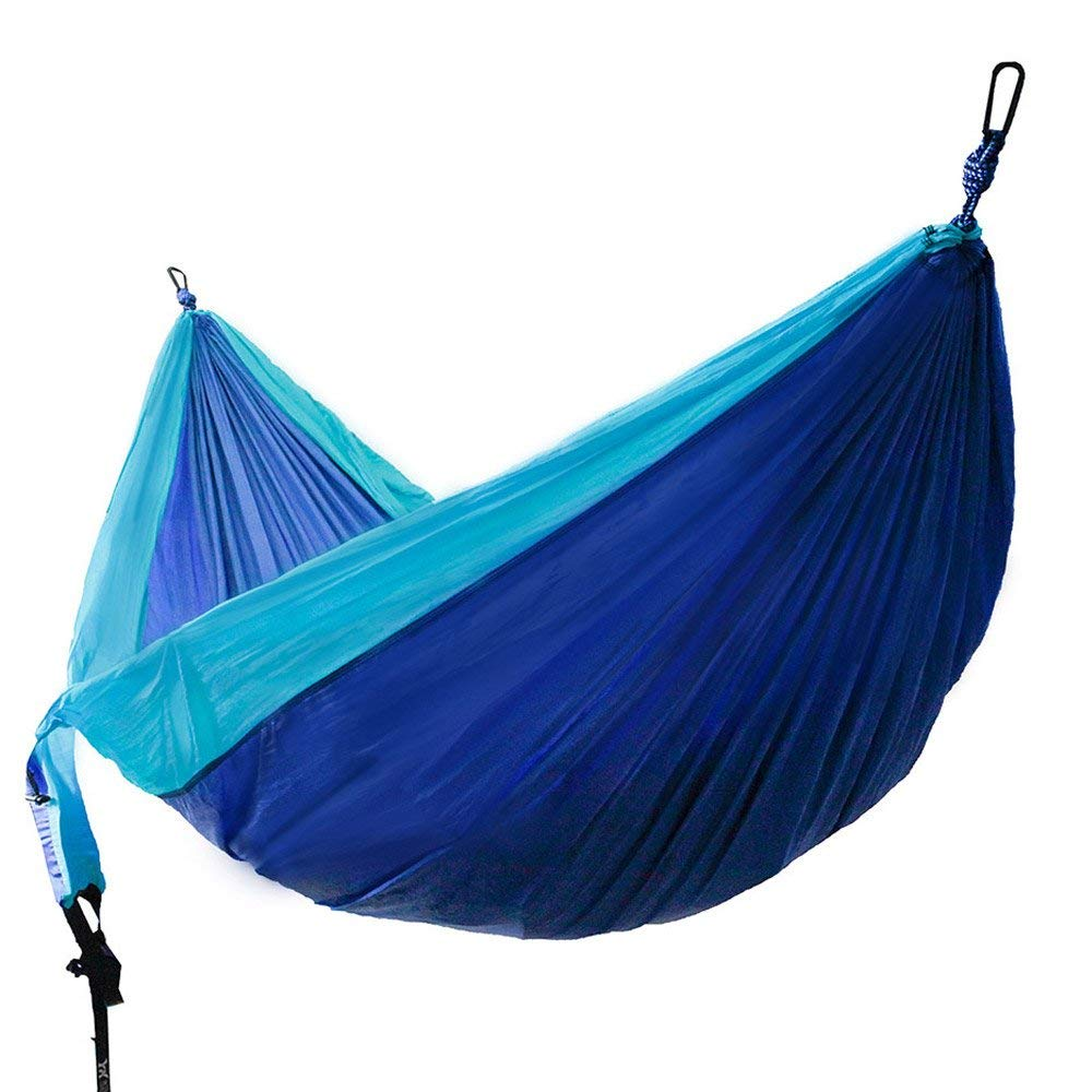 Outfitters Double Camping Hammock Lightweight Nylon Portable Hammock Best Parachute Double Hammock For Backpacking Camping Trave