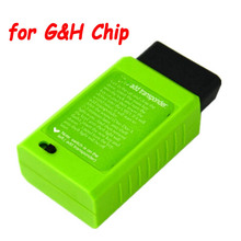 Obd2 16pin 포트를 통해 도요타 G 및 H 칩 4D67,68,72(G) 에 대 한 차량 OBD 원격 키 프로그래밍 지원 트랜스 폰더 무료 배송 추가