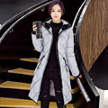 Womens Winter Coats Jackets Fashion Thick Down Coat Long Sleeve Cotton Lady Parkas Outwear Plus Size#MF61