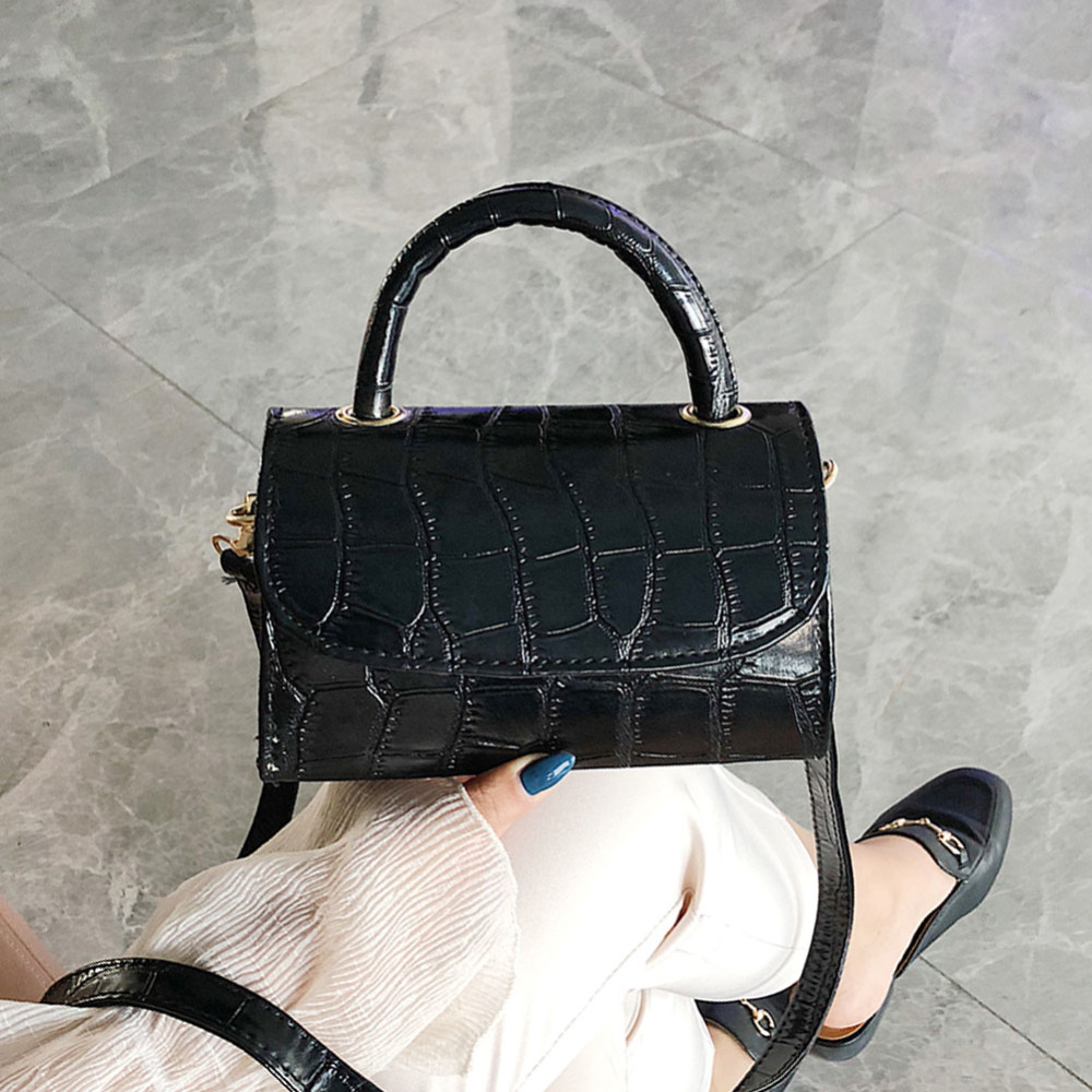Stone Pattern Crossbody Bags For Women 2019 Fashion Small Solid Colors Shoulder Bag Female Handbags and Purses With Handle NewStone Pattern Crossbody Bags For Women 2019 Fashion Small Solid Colors Shoulder Bag Female Handbags and Purses With Handle New