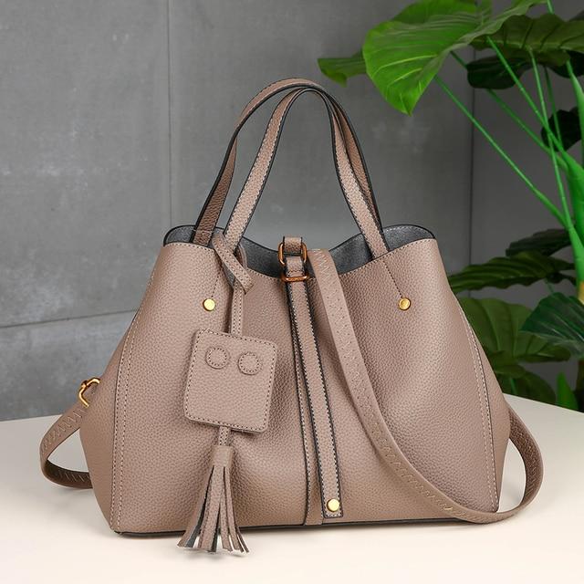 2017 Large Soft Leather Bag Women Handbags Ladies Crossbody Bags For Women  Shoulder Bags Female Big 7a82d2798cea7
