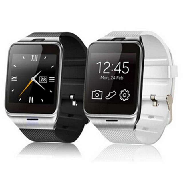 2016 Мода mtk6261D Aplus Smart Watch GV18 Поддержка SIM TF Карты NFC Связи Bluetooth3.0 550 мАч Батареи Длительный Срок
