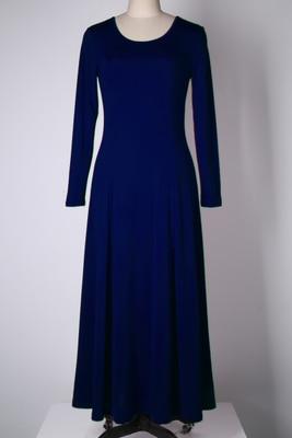 Летнее платье для женщин модное повседневное Макси платье размера плюс черные платья Бохо сарафан вечерние элегантные женские платья - Цвет: navy long sleeve