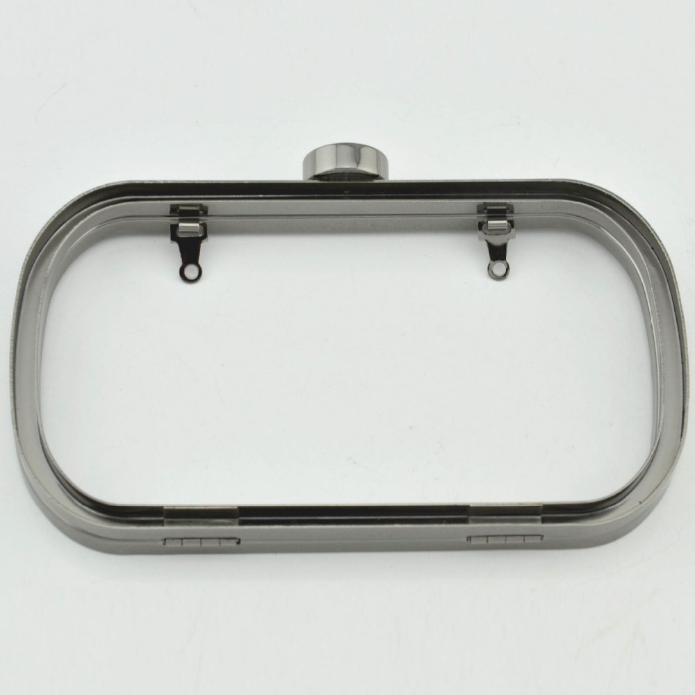 2016 Wholesale Bag Purse Metal Frame Kiss Clasp Diy Bag Clutch China Factory Bag Handle Metal Clutch Purse Frame