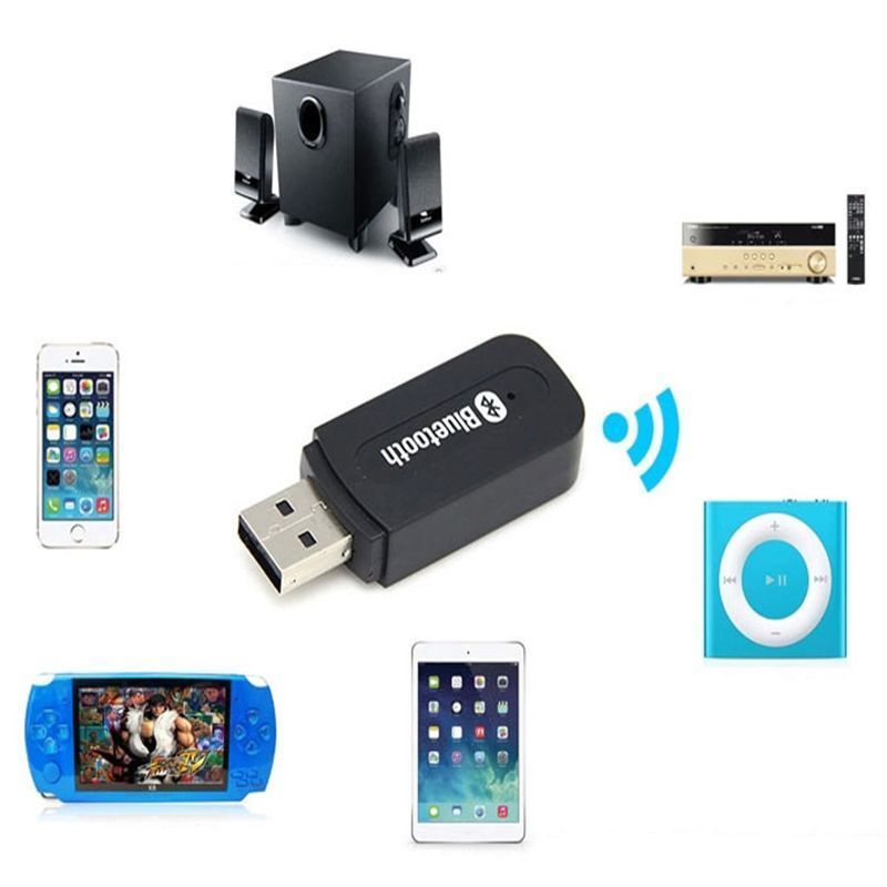 3.5mm USB Wireless Bluetooth 4.0 Music Audio Stereo Receiver Adapter Dongle Accessories For