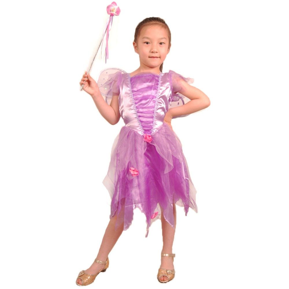 Butterfly Halloween Costumes fun world costumes fw114072 s small girls ballerina butterfly child costume Fairy Tale Baby Girl Fairy Costume Purple Butterfly Dress Fancy Dress Halloween Party Children Halloween Costume