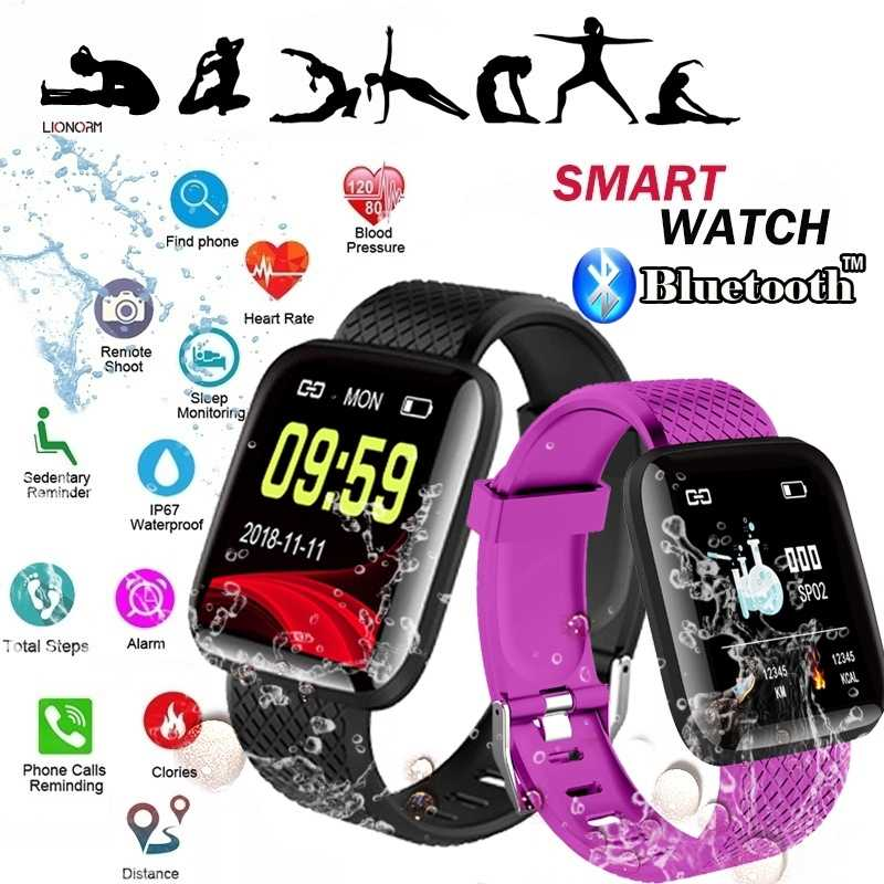 Smart Watch Wearable Bluetooth Running GPS Fitness Tracker Watch with Heart Rate Smart Wristband Pedometer for Kids Woman Man