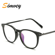 Simvey New Fashion Brand Vintage Eye Glasses Frames for Women Mens Retro Optical Eyeglasses Frames Clear Lens TR90