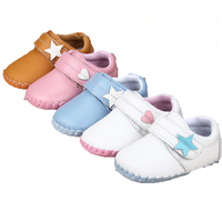 9 Style Cute Pattern Genuine Leather Baby Moccasins Soft Baby Shoes First Walker Chaussure Bebe Newborn