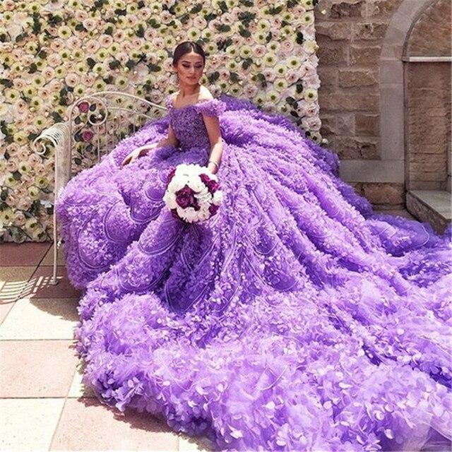 Lavender wedding dresses for sale