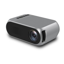 YG320 PK YG300 LED LCD Portable Mini Projector 3.5mm 1080P HD HDMI USB Projector Home Theater Cinema Media Player beamer
