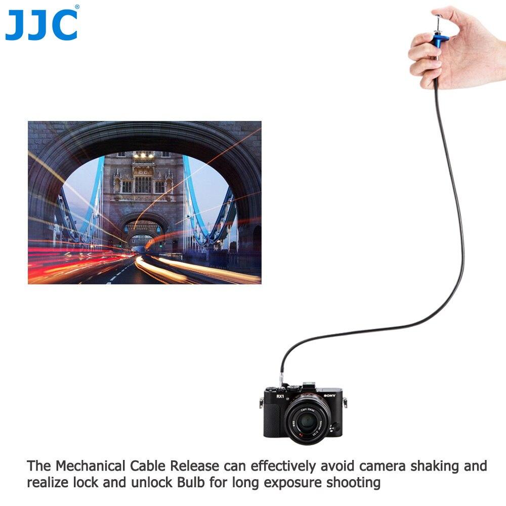 JJC 40cm cable de liberación del obturador mecánico FR Fujifilm X100V X-T4 X-T3 X-T2 X-T30