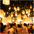 5 pcs Chinês da Lanterna de Papel Lanternas do Céu pipas Lanterna Kongming Voador Wishing Lamp Wedding Party Balloon Decoração