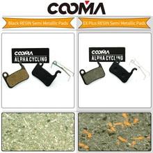 COOMA's Disc Brake Pads For SHIMANO SLX M665, Deore LX T665, M585, Hone M601, Deore M596, M595, M535, Alfine S501; 1 Pair Resin(China)