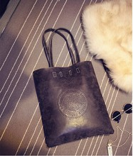 Herbst und winter frauen handtasche personalisierte peeling PU einfarbig geprägt brief kurze art und weise allgleiches schultertasche handtasche