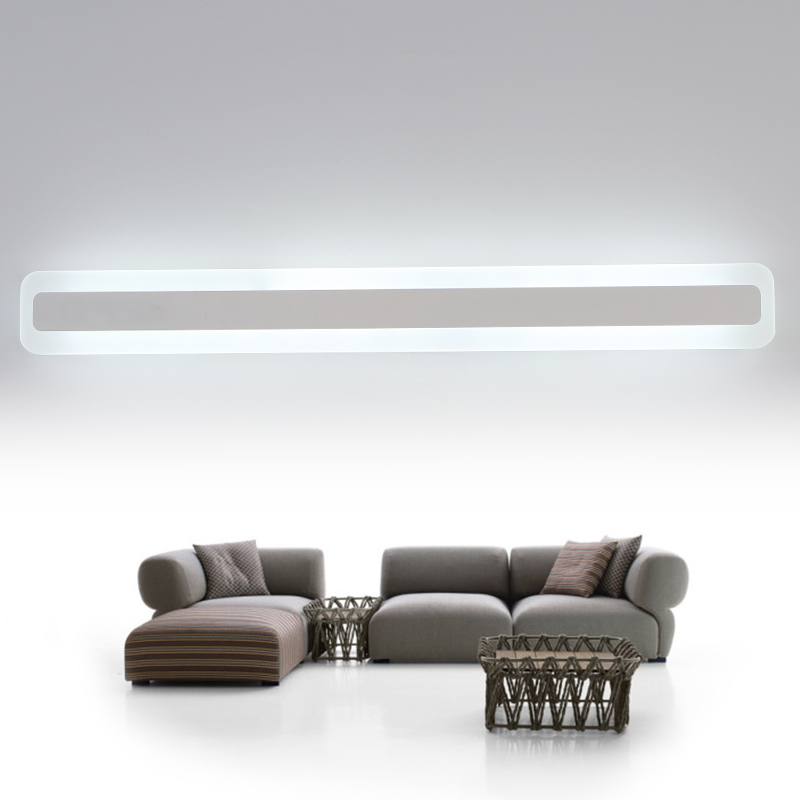 2017 New 40CM 120CM bathroom led Mirror light modern wall lamp lampada de led lamp lighting fixtures Apliques De Pared Luz