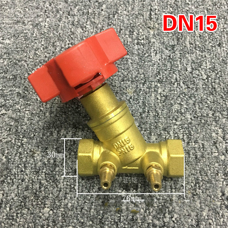 Brass  Balancing Valve  Regulating Valve DN15-DN50