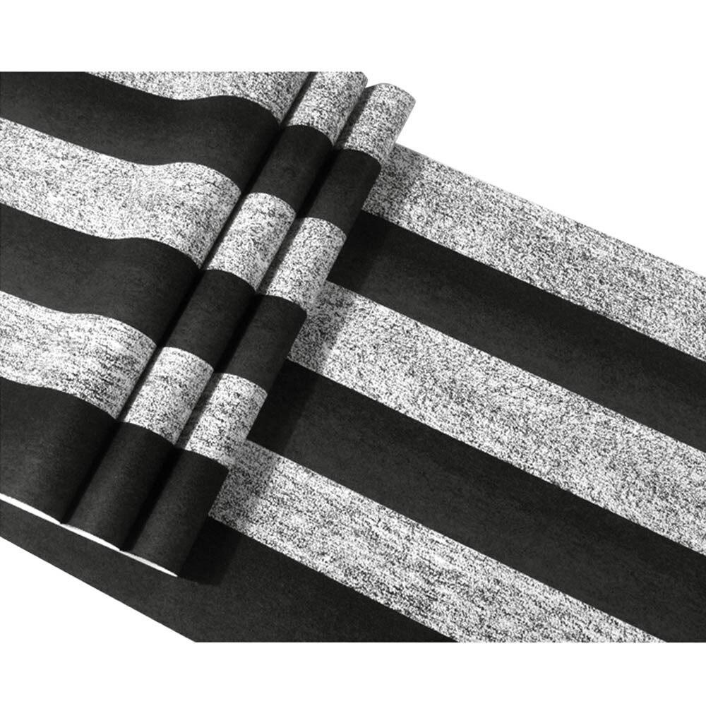 Vintage rayure papier peint moderne papier peint rouleau chambre bureau rayé papier peint