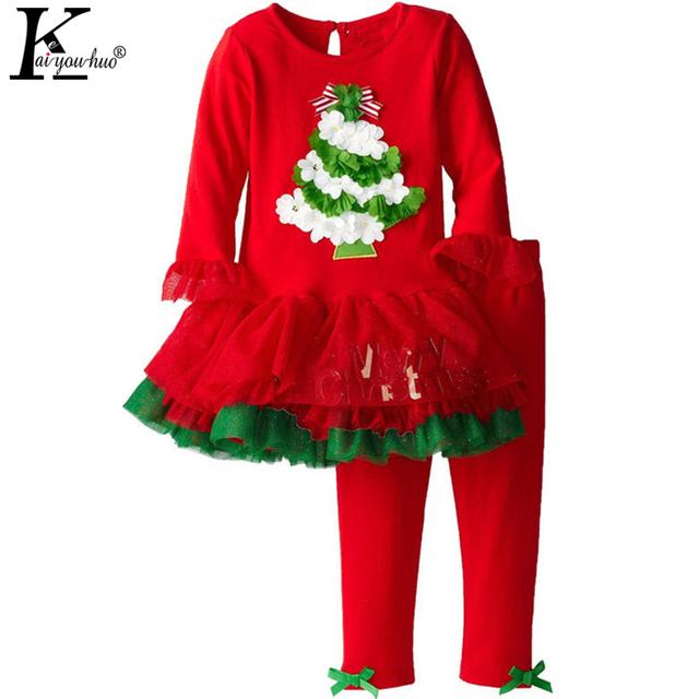 Novo 2016 Natal Das Crianças Ternos Moda Esportes Terno do Lazer das Crianças Ternos Menino Terno de Santa Do Natal Das Meninas Roupa Dos Miúdos
