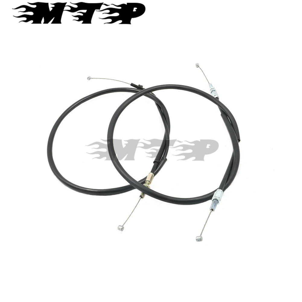 Motorcycle Oil Throttle Cable Line Wire For KAWASAKI KLX250 KLX 250 1994-2007 06 05 04 03 02 01 00 99 98 97 96 95 throttle cable or wire suit for jianshe400 atv js400atv