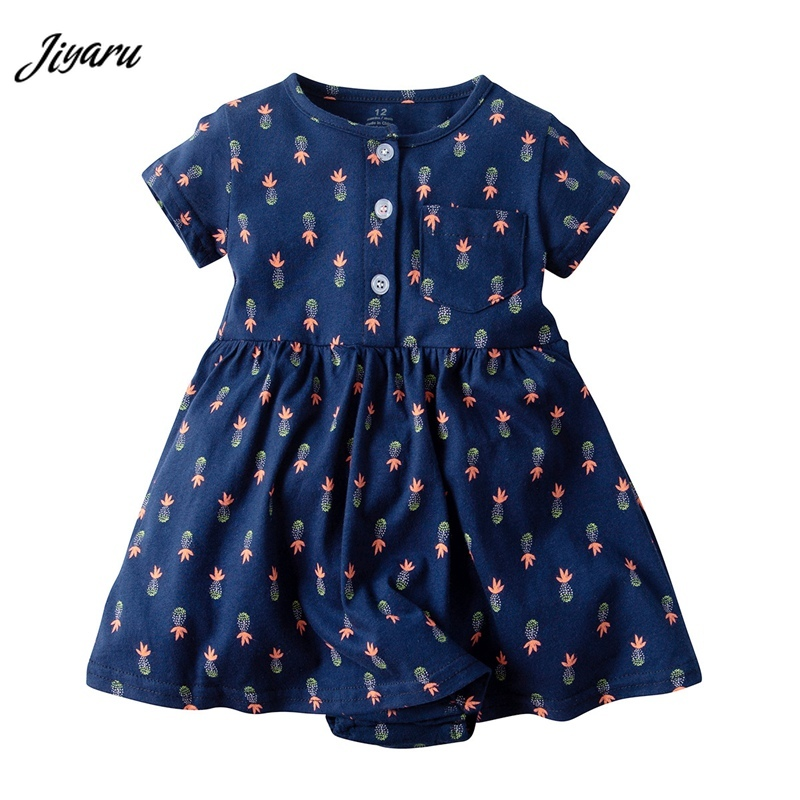 New Baby Girl Rompers Newborn Cotton Printing Jumpsuits Dress Sleeveless Baby Romper Outfit Sunsuit Comfortable Baby Gir ClothesNew Baby Girl Rompers Newborn Cotton Printing Jumpsuits Dress Sleeveless Baby Romper Outfit Sunsuit Comfortable Baby Gir Clothes