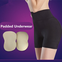 High Waist Trainer Control Panties Plus Size 4XL Women Butt Lifter Underpants Body Shaper Slimming Padded