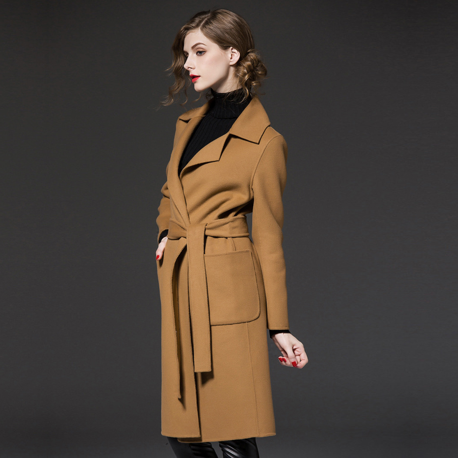 Online Buy Wholesale blue cashmere coat from China blue cashmere