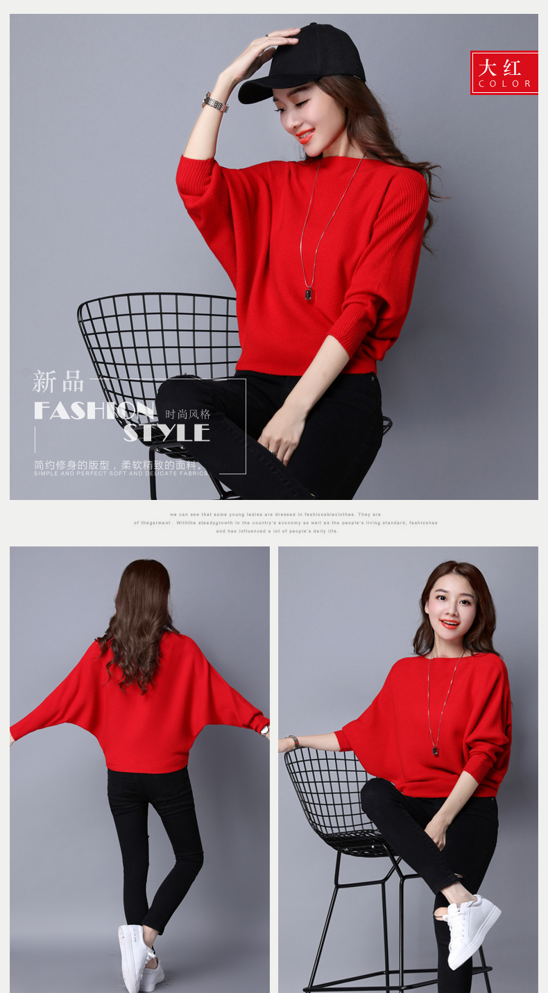 Pure Color Womans Sweater Knitted Korean Style Women Pullover Casual Ladies Thin Sweaters Womens Tops And Blouses Clothing 10