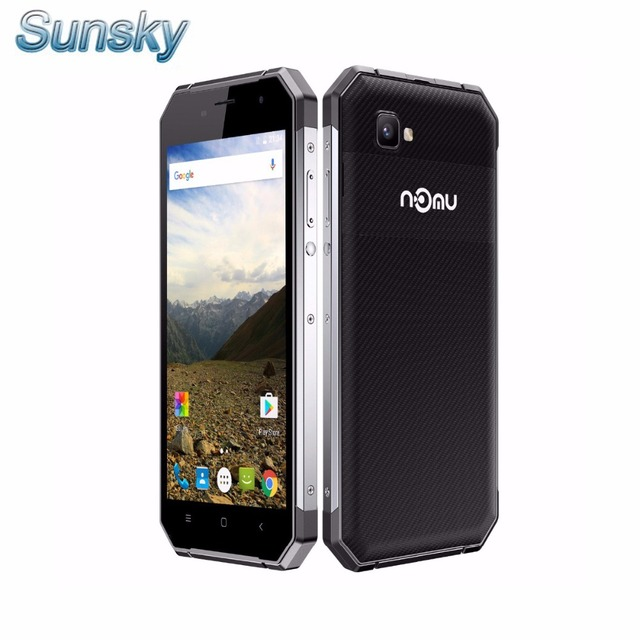New NOMU S30 IP68 Waterproof 5.5inch FHD MTK6755 Octa-core 2.0GHz FDD Android 6.0 4G LTE Mobile Phone 4GB 64GB 16.0MP Cellphone