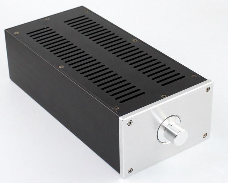 SENGTERBELLE WF1146 Mini Full Aluminum Chassis HIFI Audio Amplifier Enclosure /Tube Amplifier Case DIY Box 320 90 300mm aluminum audio chassis case enclosure diy box for amplifier hifi