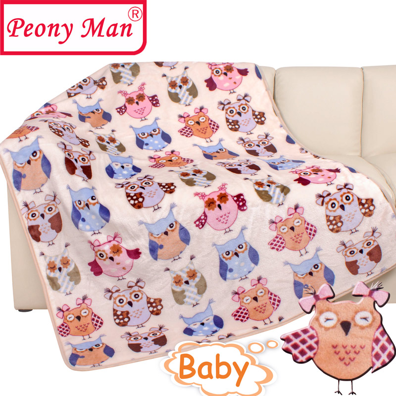 fc54a77303 Dropwow High Quality Baby Blanket Kids Cartoon Throw Cobertor Aircon ...