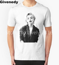Marilyn Monroe T shirt Men Movie Star Printed Top Clothing Male Cotton Short Sleeve T-Shirt Plus Size