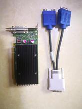 90% новая видеокарта NVS300 X16 BV456AA 625630-001 632827-001 с адаптером VGA