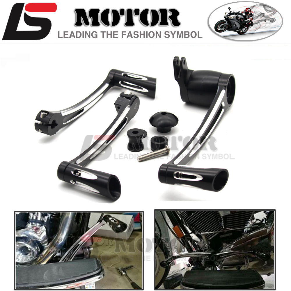 Motorcycles Pedal Deep Cut Brake Arm Kit Shift Lever W/ Shifter Pegs For Harley Touring 2008-2013 or Turing 2014-2016