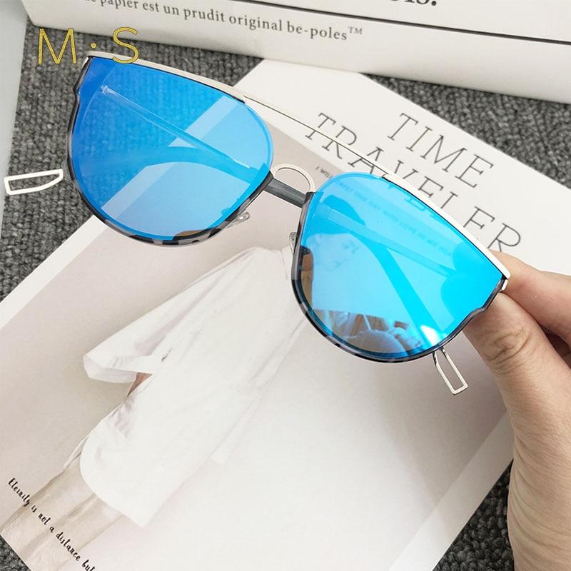 MS Cat Eye Sunglasses Women 2018 Fashion Sun Glasses Lady Brand Designer Vintage Shades Gafas Oculos de sol UV400