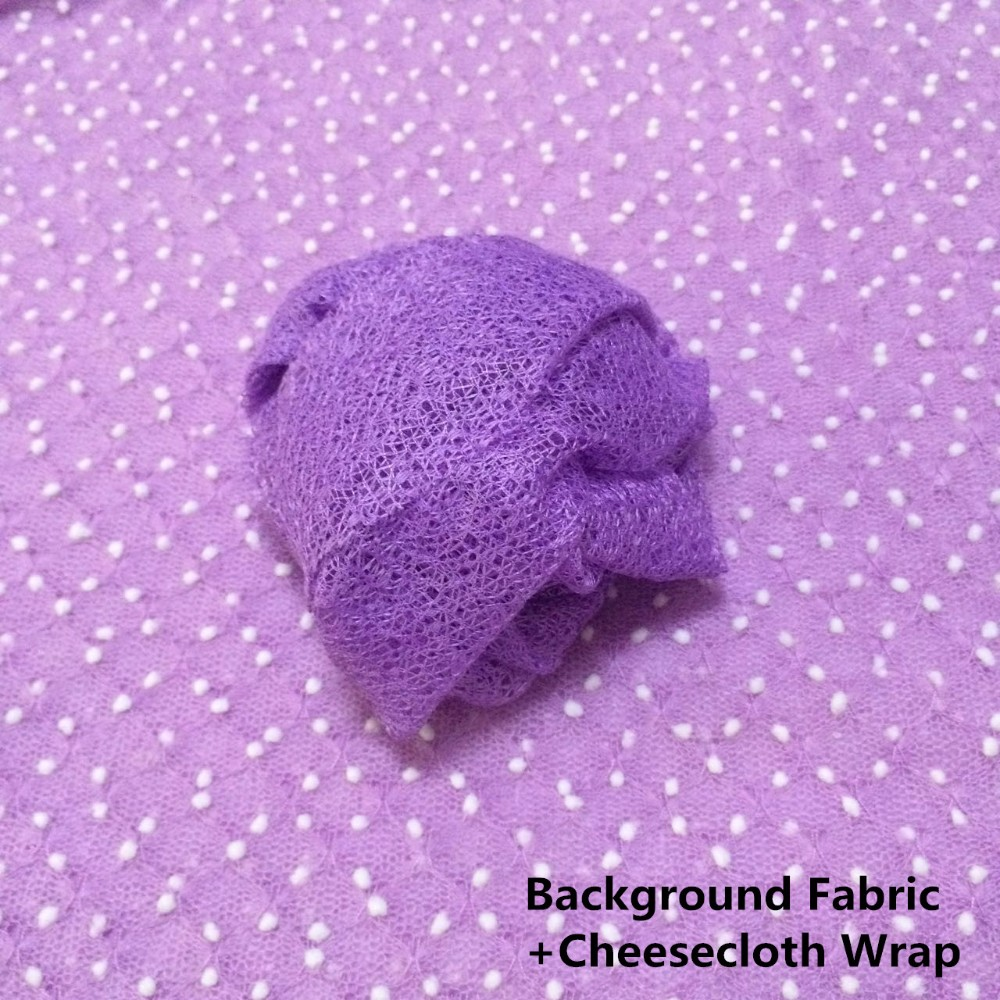 Background Fabric+cheesecloth wrap