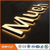 3D de Iluminación de Acrílico Mini LED Letra de Canal Signo/Máquina Dobladora de Acrílico Hacer cara Letras de Iluminación