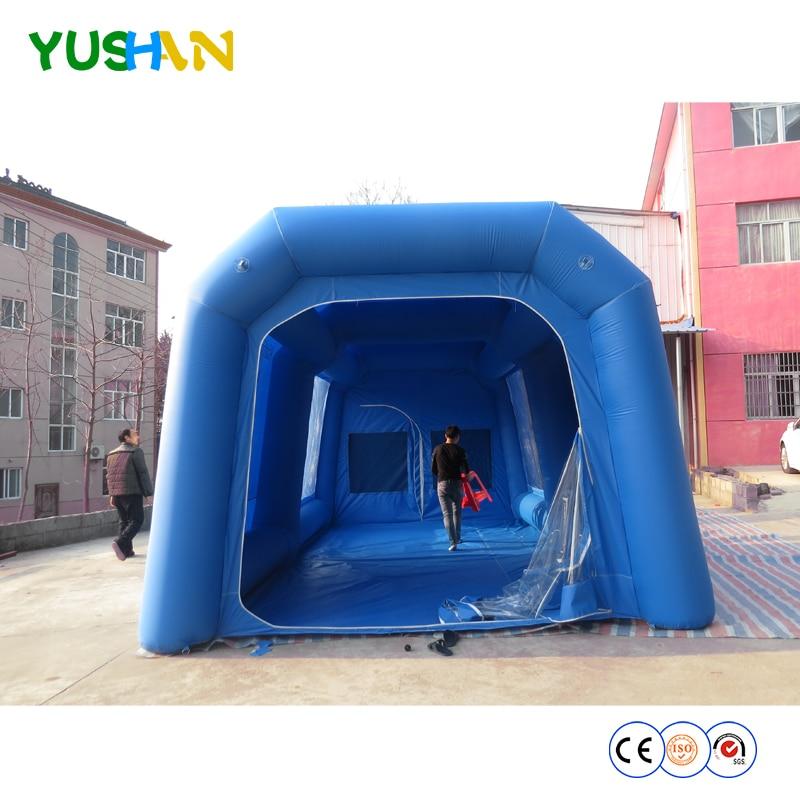 Бесплатная доставка воздуха новый дизайн 8*5*3 м надувная аэрозольная камера, автомобильный Аэрограф палатки/коммерция автомобильная краска