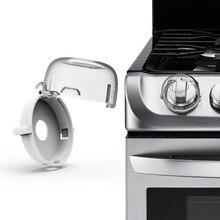 6 шт. детская Защитная газовая плита для готовки кнопка управления переключатель защитная крышка протектор замок безопасности домашняя кухня