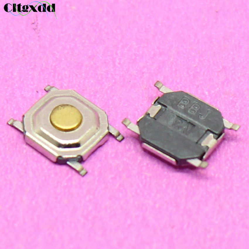 Romantic 20 Pcs 6x6x10mm 4 Pins Dip Pcb Momentary Tactile Tact Push Button Switch Switches