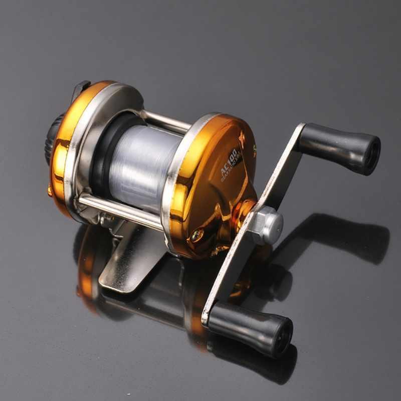 جديد اليسار اليد اليمنى Baitcasting الصيد بكرة 5.2: 1 بيت صب الصيد عجلة مع الفرامل المغناطيسي الكارب Carretilha Pesca